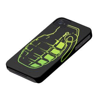 Cubierta del iPhone de la granada de mano iPhone 4 Protectores