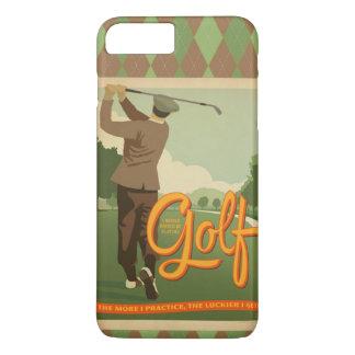 Cubierta del iPhone de la imagen del golf del Funda iPhone 7 Plus