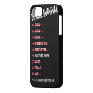 Cubierta del iPhone de la lista de control de la s iPhone 5 Case-Mate Carcasa