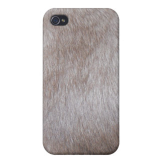 Cubierta del iPhone de la piel del gato siamés iPhone 4 Carcasas