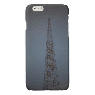 Cubierta del iphone de la torre de radio