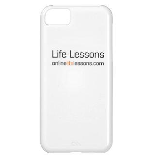 Cubierta del iPhone de las lecciones de la vida Funda Para iPhone 5C
