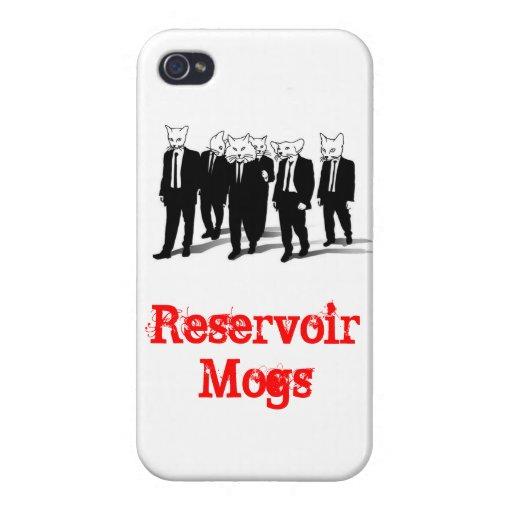 Cubierta del iPhone de Mogs del depósito iPhone 4 Fundas