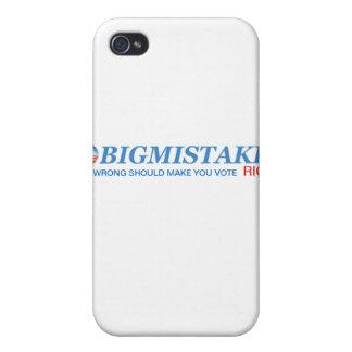 Cubierta del iphone de OBIGMISTAKE iPhone 4 Fundas