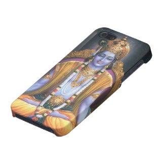 Cubierta del iPhone de señor Krishna iPhone 5 Protectores