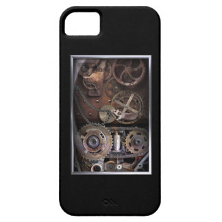 Cubierta del iPhone de Steampunk Funda Para iPhone 5 Barely There