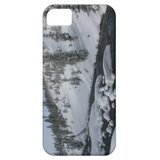 Cubierta del iPhone de Yellowstone del invierno iPhone 5 Case-Mate Cobertura