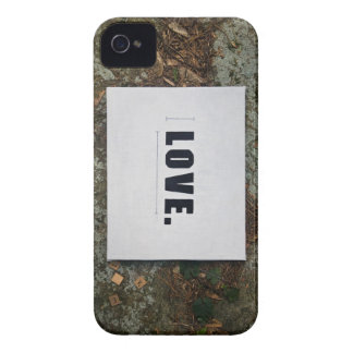 Cubierta del iPhone del amor iPhone 4 Fundas