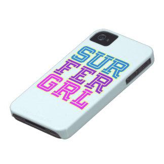 Cubierta del iphone del chica de la persona que Case-Mate iPhone 4 fundas
