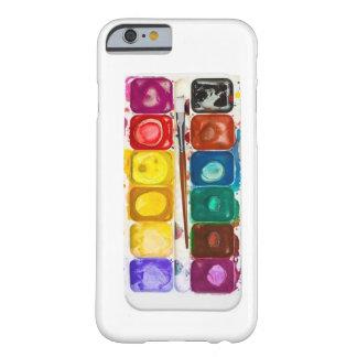 Cubierta del iphone del color de agua
