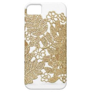 Cubierta del iPhone del cordón del oro de Artandra iPhone 5 Cobertura