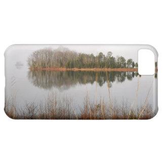Cubierta del iphone del lago mayo funda para iPhone 5C