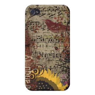 Cubierta del iPhone del pájaro de la tranquilidad  iPhone 4 Carcasa
