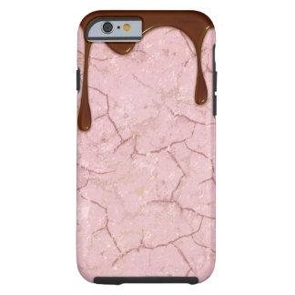 Cubierta del iPhone del placer del chocolate Funda Resistente iPhone 6
