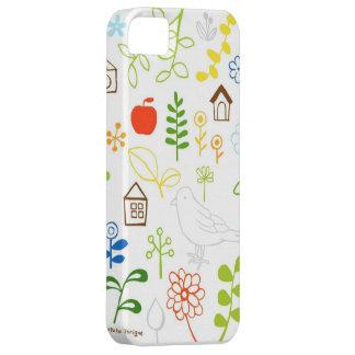 cubierta del jardín iphone5 iPhone 5 Case-Mate protector