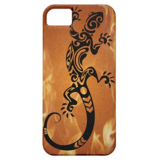 Cubierta del lagarto de la roca para el iphone 5 iPhone 5 Case-Mate protector