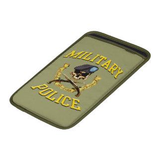 Cubierta del mac del cráneo de la policía militar funda para macbook air