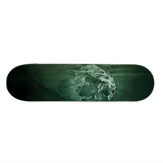 Cubierta del miedo (verde) patinetas personalizadas