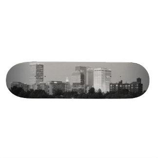 Cubierta del monopatín del horizonte B&W de Tulsa Patinetas Personalizadas