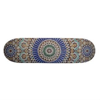 Cubierta del monopatín del modelo de mosaico patines personalizados