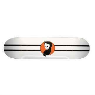 Cubierta del monopatín del segador (naranja) tablas de patinar