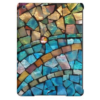Cubierta del mosaico del vitral para el aire del