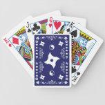 cubierta del ninja baraja de cartas
