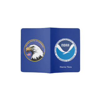 Cubierta del pasaporte de NOAA Porta Pasaporte