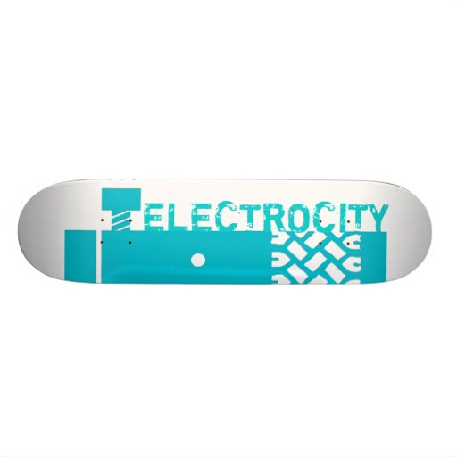 """Cubierta del patín de Frankencar """"Electrocity"""""""