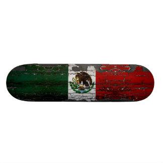 Cubierta del patín de la bandera de México