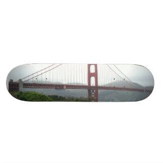 Cubierta del patín de puente Golden Gate