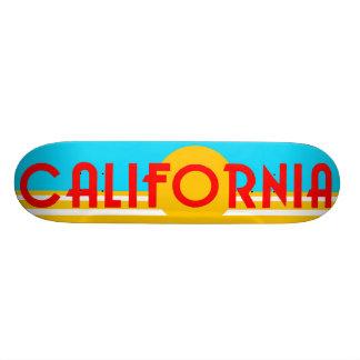 Cubierta del patín del logotipo de California del