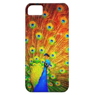Cubierta del pavo real de Iphone iPhone 5 Carcasas