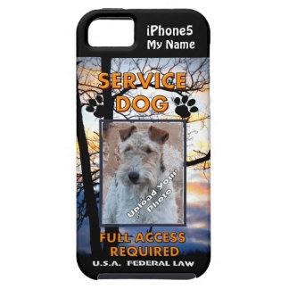 Cubierta del perro iPhone5 del servicio de Lakelan iPhone 5 Case-Mate Protector