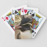 Cubierta del pingüino de Rockhopper de tarjetas Baraja Cartas De Poker