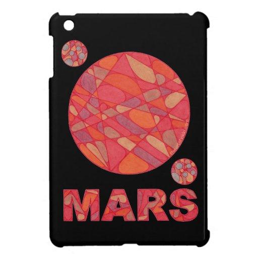 Cubierta del planeta del arte de Marte de la diver