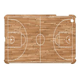 Cubierta del proceso legal de cancha de básquet