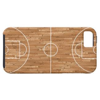 Cubierta del proceso legal de cancha de básquet funda para iPhone 5 tough