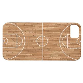 Cubierta del proceso legal de cancha de básquet iPhone 5 funda