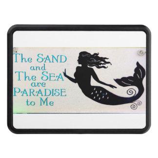 cubierta del remolque de enganche de la arena y de tapa de remolque