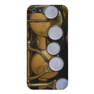 Cubierta del saxofón para el iPhone iPhone 5 Cárcasas