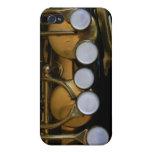 Cubierta del saxofón para el iPhone iPhone 4 Fundas