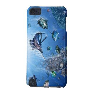 Cubierta del tacto de iPod del frenesí del pez vol