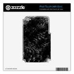 Cubierta del tacto de iPod del vórtice (4ta GEN) iPod Touch 4G Skins
