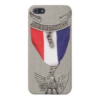 Cubierta del teléfono celular de Eagle Scout iPhone 5 Fundas