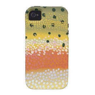 Cubierta del teléfono celular de la trucha arco vibe iPhone 4 carcasas