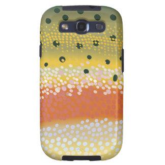 Cubierta del teléfono celular de la trucha arco ir galaxy s3 cobertura