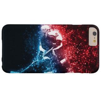Cubierta del teléfono celular del arte del hockey funda de iPhone 6 plus barely there
