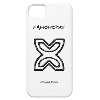 Cubierta del teléfono de Adinkra - de Fawohodie- iPhone 5 Funda