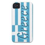 Cubierta del teléfono de Grecia Case-Mate iPhone 4 Funda